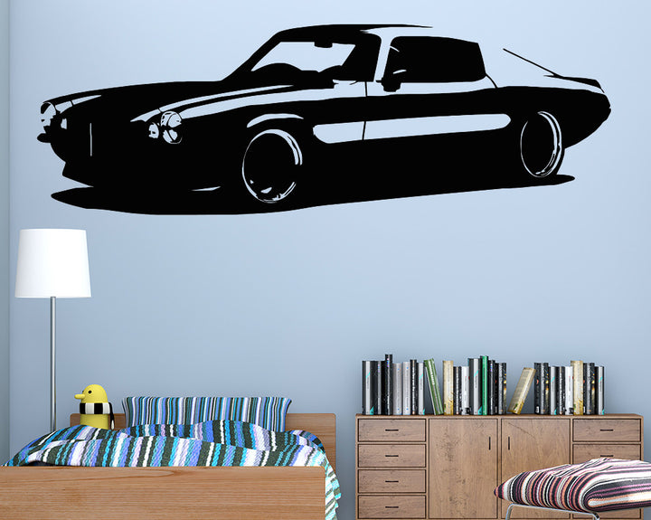 Cool Car Decal Vinyl Wall Sticker