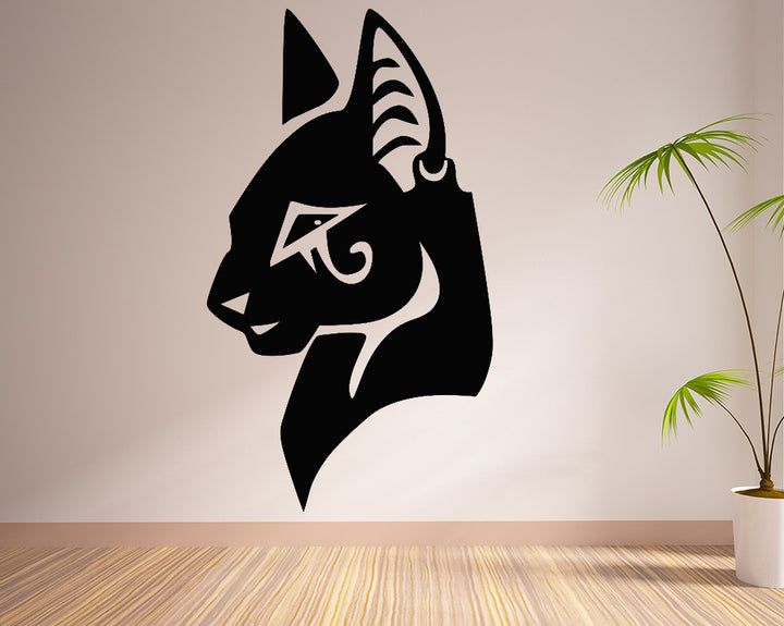 Cat Decal Vinyl Wall Sticker