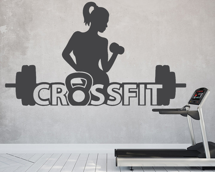 Crossfit Decal Vinyl Wall Sticker