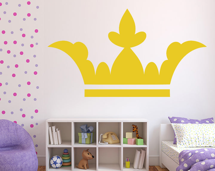 Crown Decal Vinyl Wall Sticker