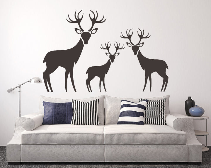 Deer Decal Vinyl Wall Sticker