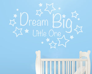Dream Big Decal Vinyl Wall Sticker