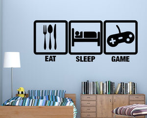 Gaming Decal Vinyl Wall Sticker