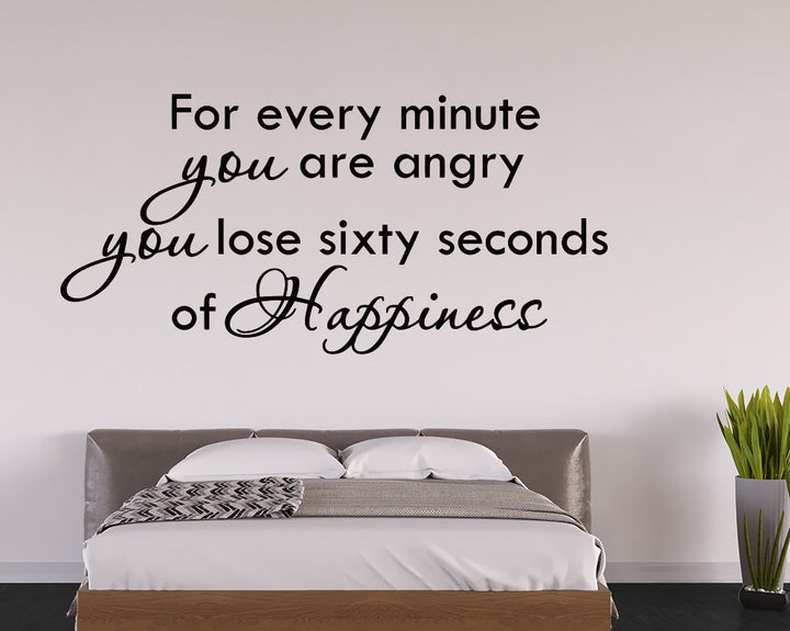 Happiness Decal Vinyl Wall Sticker