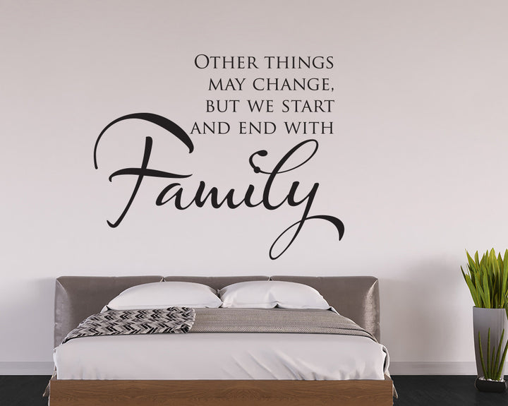 Family Decal Vinyl Wall Sticker