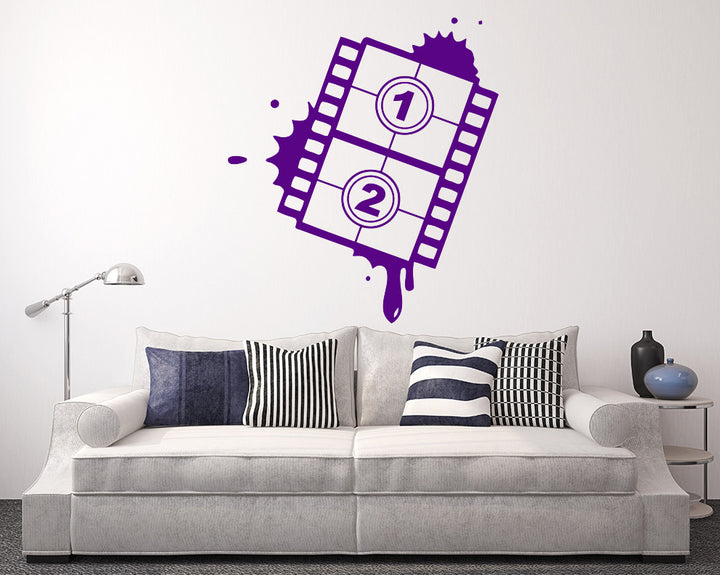 Film Decal Vinyl Wall Sticker