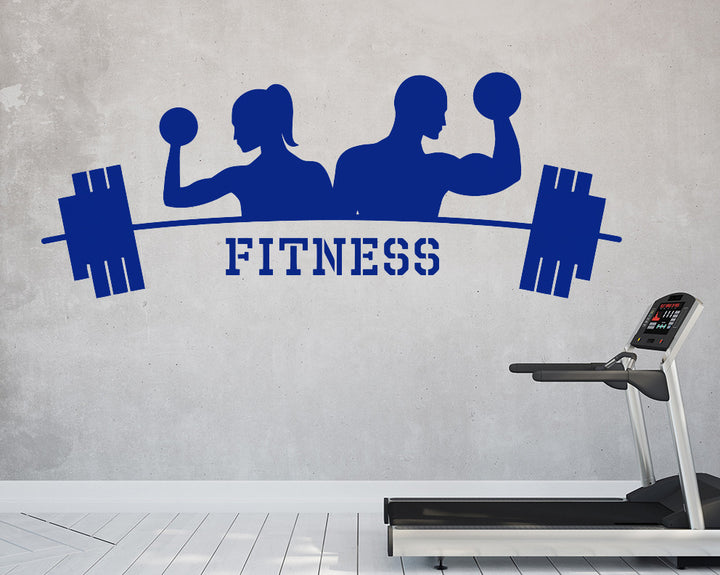 Fitness Decal Vinyl Wall Sticker
