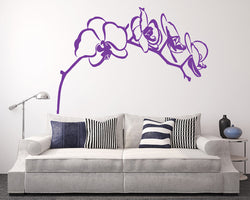 Orchid Decal Vinyl Wall Sticker