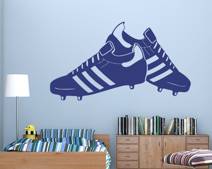 Football Boots Decal Vinyl Wall Sticker