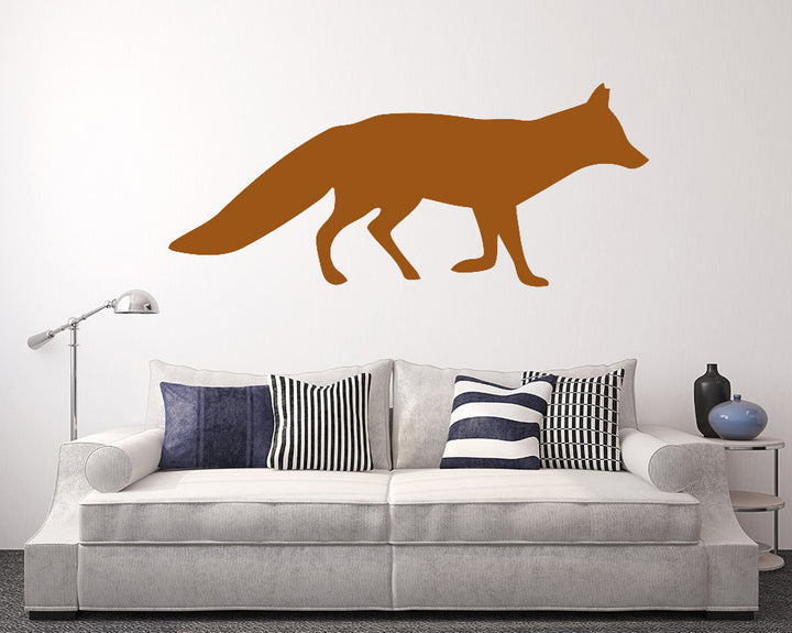 Fox Decal Vinyl Wall Sticker