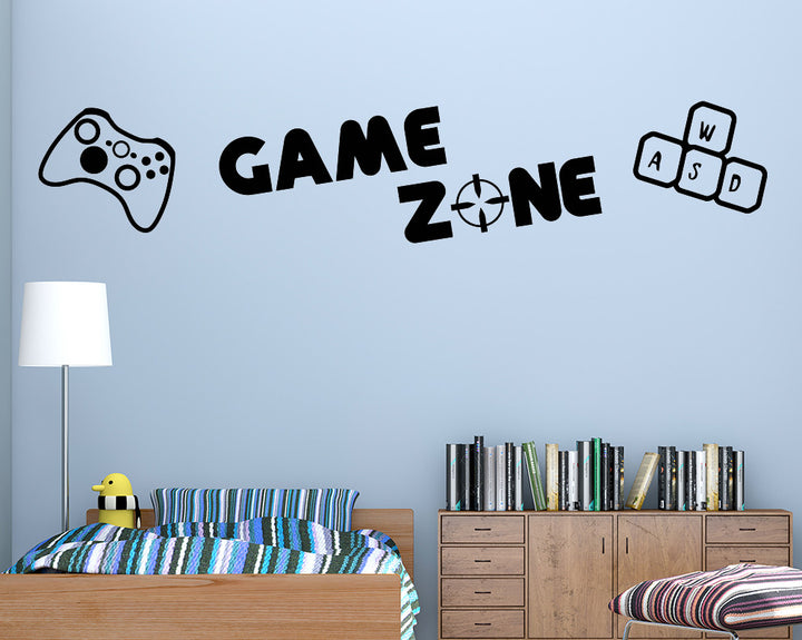 Game Zone Decal Vinyl Wall Sticker