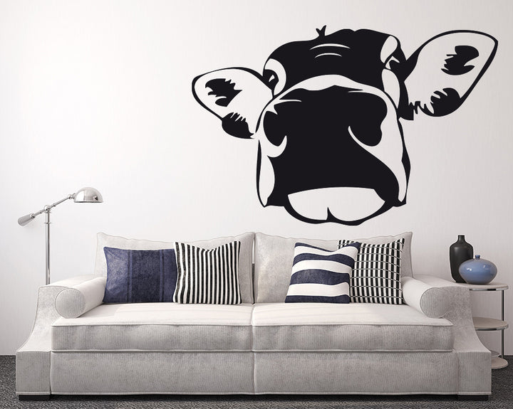 Cow Decal Vinyl Wall Sticker