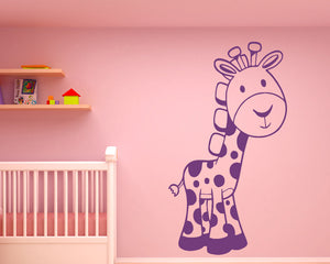 Giraffe Decal Vinyl Wall Sticker