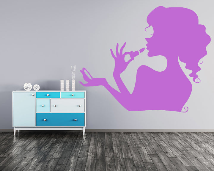 Makeup Decal Vinyl Wall Sticker