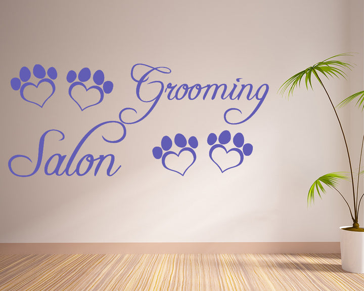Pawprint Decal Vinyl Wall Sticker