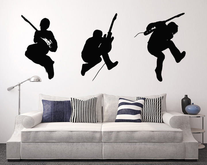 Rock Band Decal Vinyl Wall Sticker