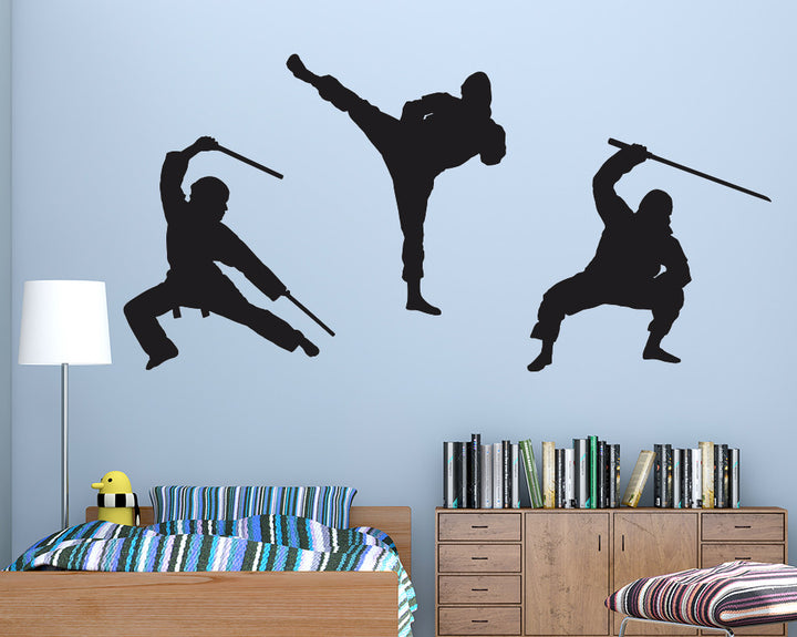 Karate Decal Vinyl Wall Sticker