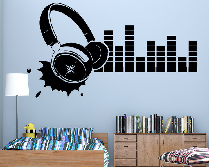 Music Decal Vinyl Wall Sticker