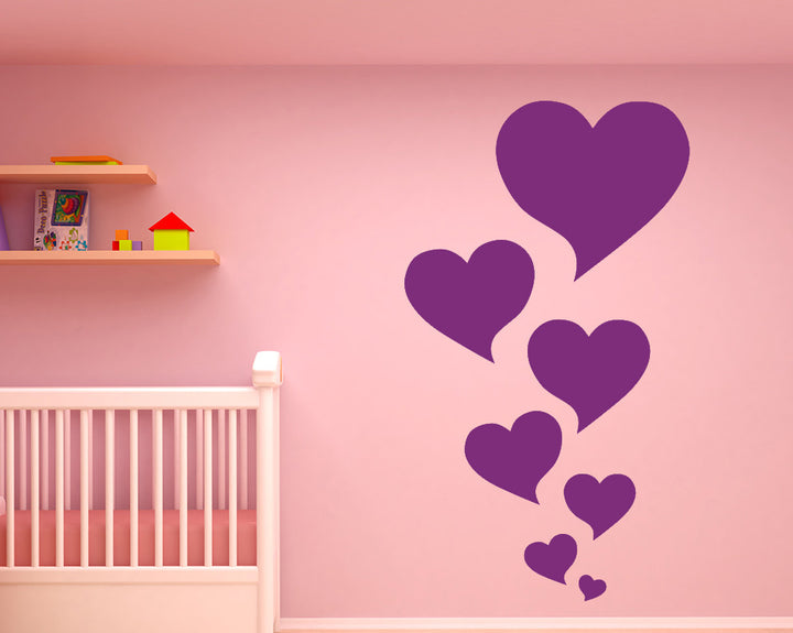 Heart Decal Vinyl Wall Sticker