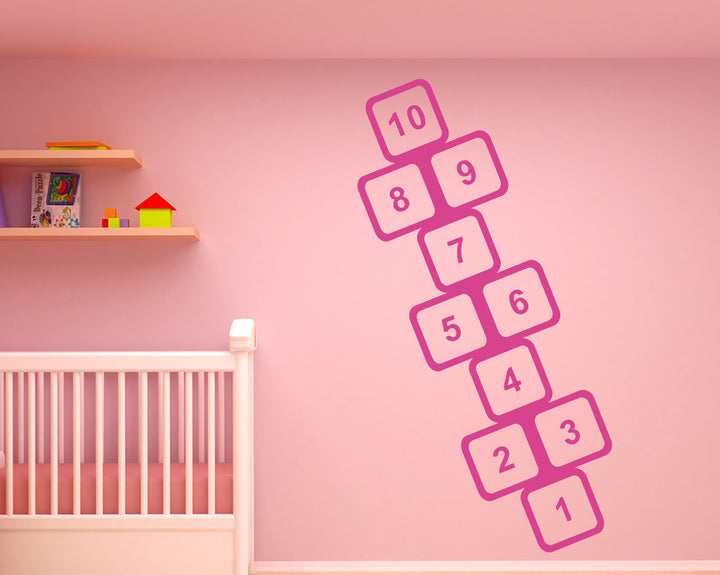 Hopscotch Decal Vinyl Wall Sticker
