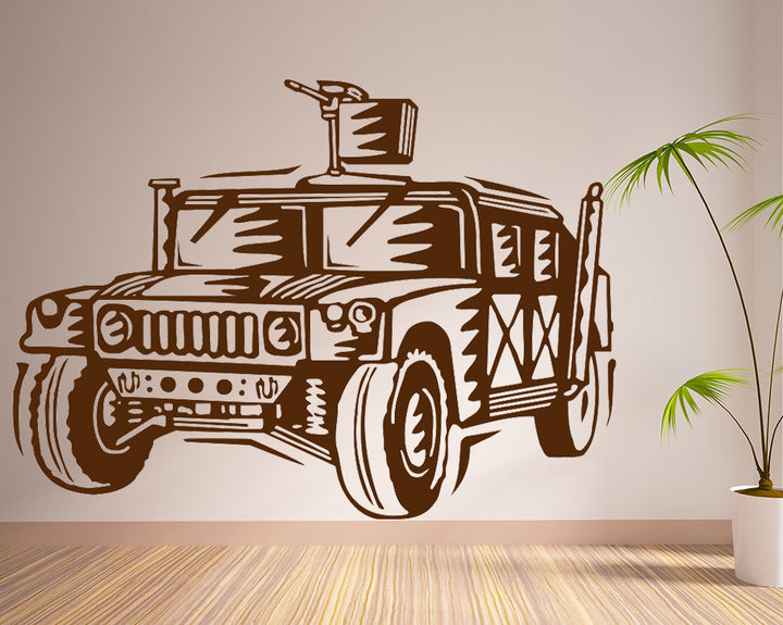 Jeep Decal Vinyl Wall Sticker