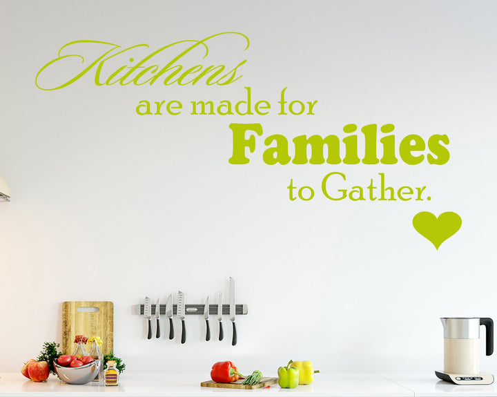 Family Gathering Decal Vinyl Wall Sticker