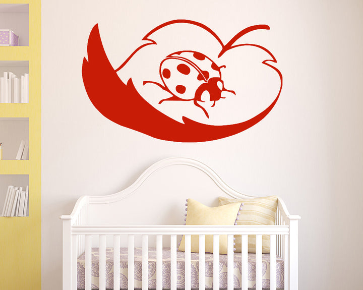 Ladybird Decal Vinyl Wall Sticker