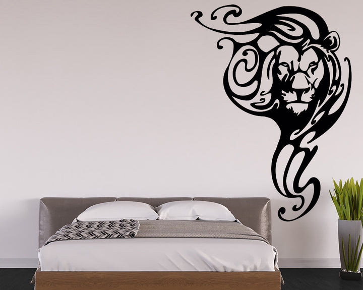 Lion Decal Vinyl Wall Sticker