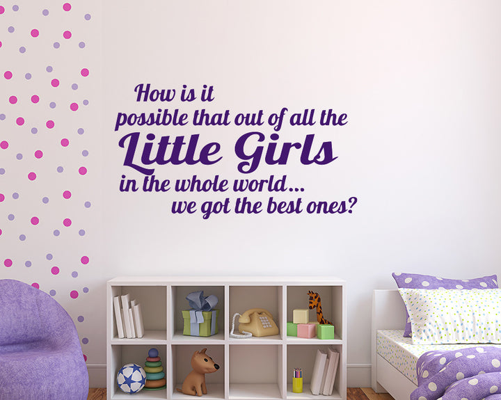 Child Quote Decal Vinyl Wall Sticker