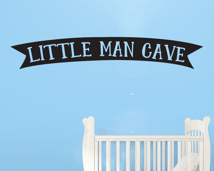 Little Man Cave Decal Vinyl Wall Sticker