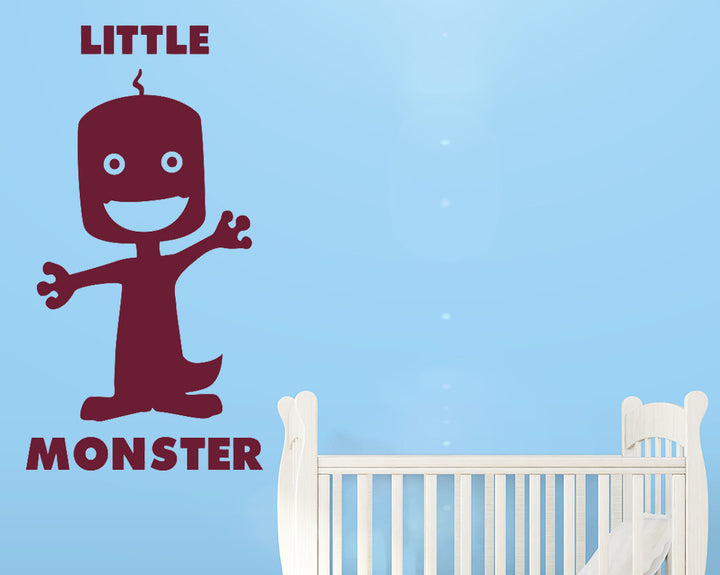 Little Monster Decal Vinyl Wall Sticker