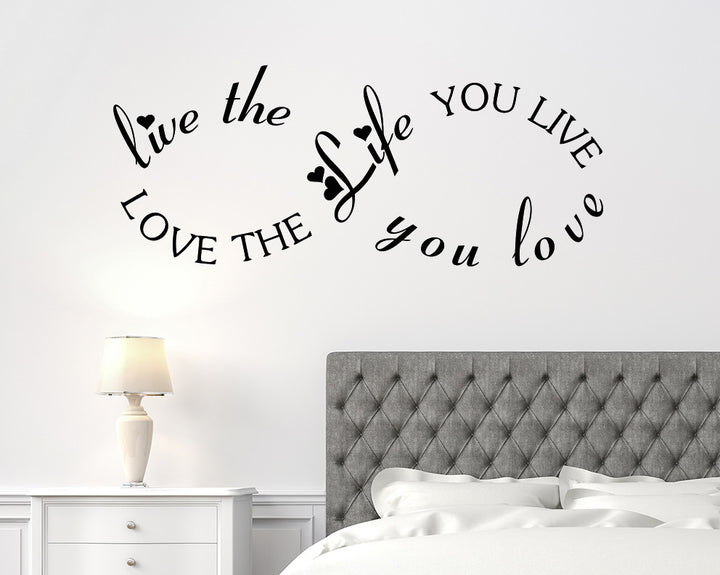 Infinity Symbol Decal Vinyl Wall Sticker