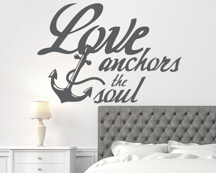 Anchor Quote Decal Vinyl Wall Sticker