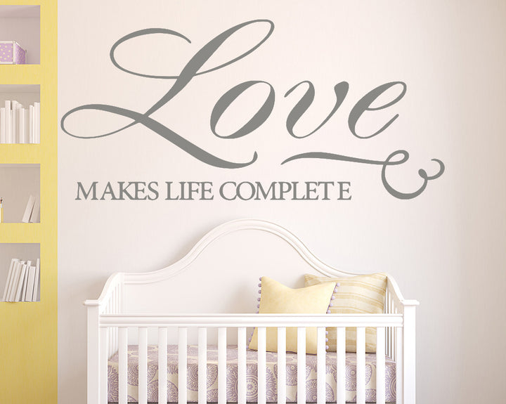 Love Quote Decal Vinyl Wall Sticker