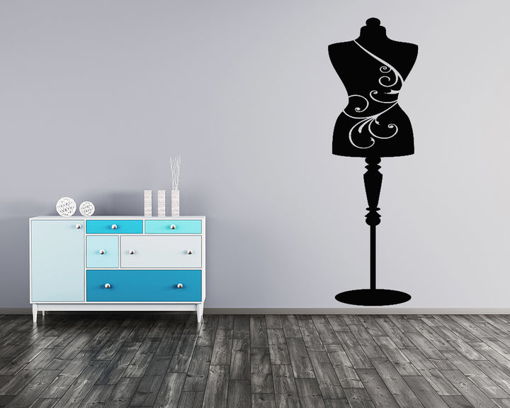 Mannequin Decal Vinyl Wall Sticker