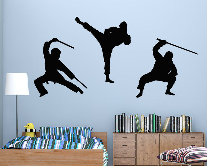 Martial Arts Decal Vinyl Wall Sticker