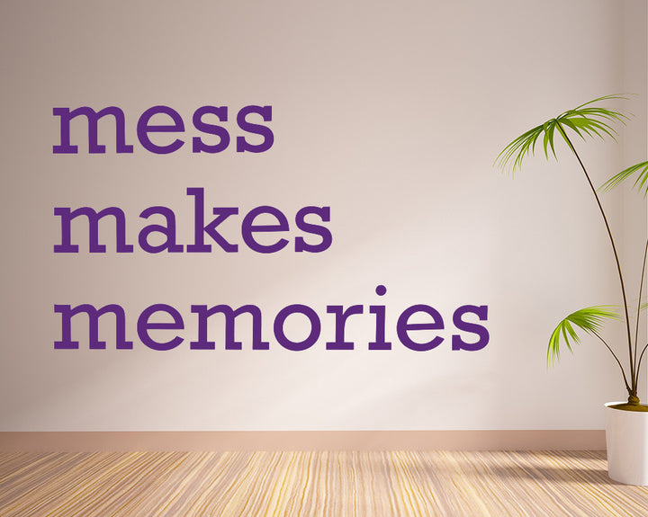 Memories Quote Decal Vinyl Wall Sticker
