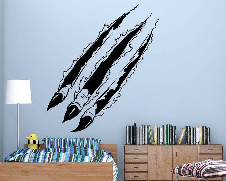 Claw Decal Vinyl Wall Sticker