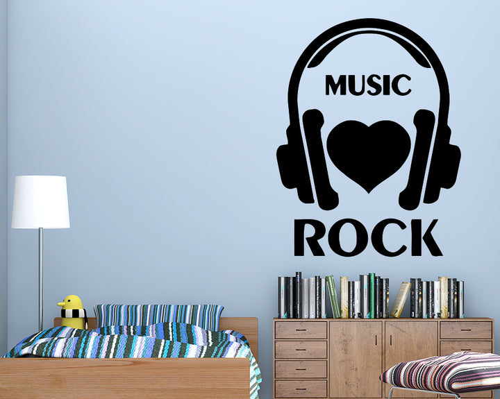 Rock Music Decal Vinyl Wall Sticker