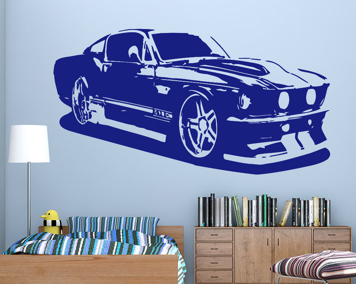 Mustang Decal Vinyl Wall Sticker