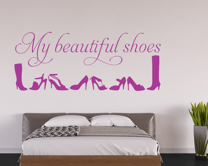Shopping Decal Vinyl Wall Sticker