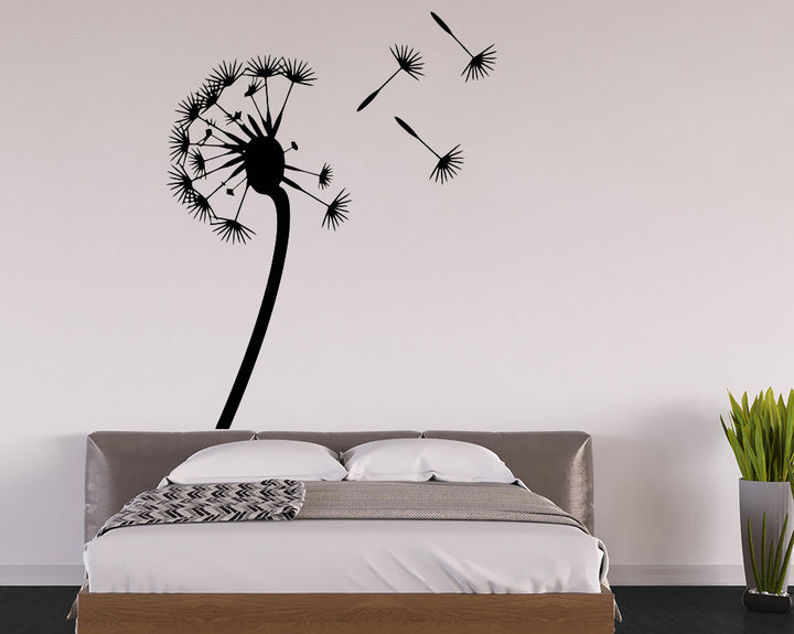 Dandelion Decal Vinyl Wall Sticker