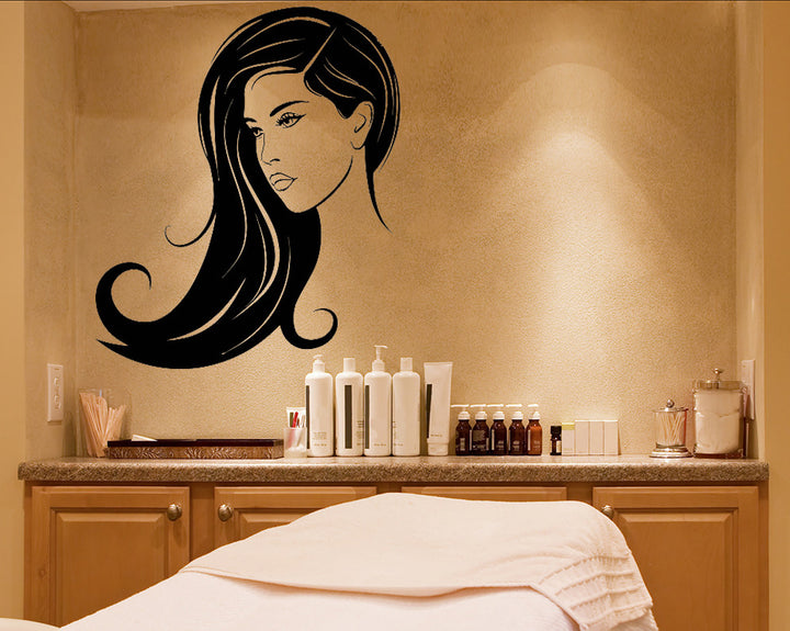 Pretty Girl Decal Vinyl Wall Sticker