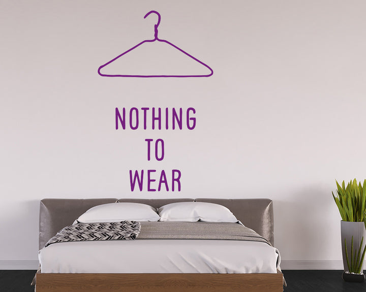 Clothes Decal Vinyl Wall Sticker