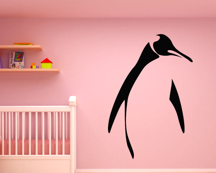 Penguin Decal Vinyl Wall Sticker