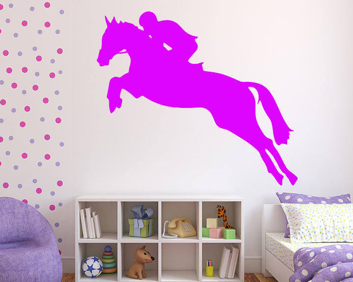 Horseriding Decal Vinyl Wall Sticker
