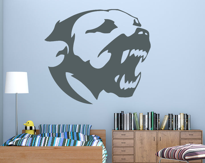 Pitbull Dog Decal Vinyl Wall Sticker