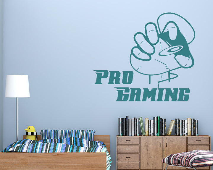 Pro Gaming Decal Vinyl Wall Sticker