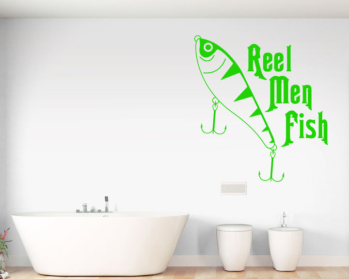 Fishing Pun Decal Vinyl Wall Sticker