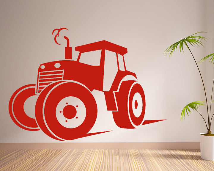 Tractor Farm Decal Vinyl Wall Sticker